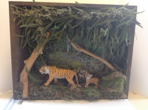 Tiger Diorama by Emily Buck