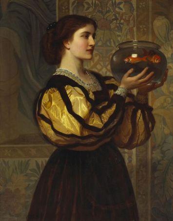 CharlesEdwardPerugini-TheGOldfishBowl-1870